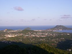 Vieux Fort and Maria Islands